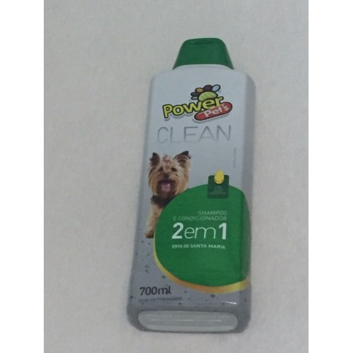 Shampoo Power Clean 2 em 1